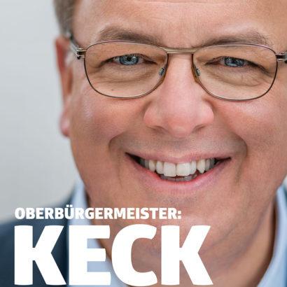 SPD Oberbuergermeister Thomas Keck