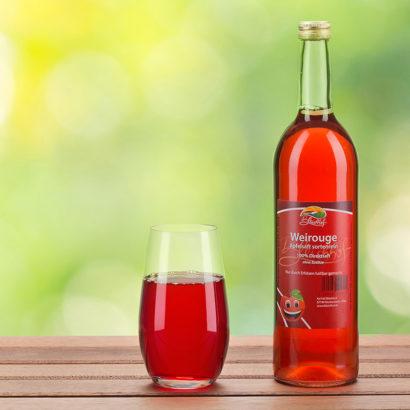 Bleichhof Weirouge Apfelsaft Produktfotos